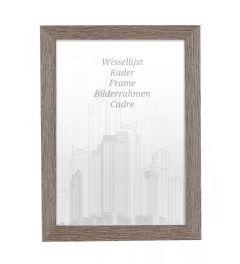 Bilderrahmen 60x60cm Lakritze - Holz