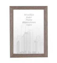 Bilderrahmen 28x35cm Lakritze - Holz