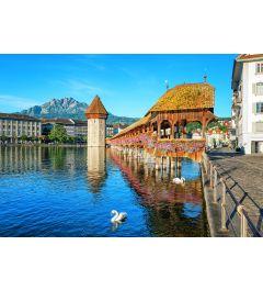 Fototapete Luzern Schweiz 366 x 254 cm