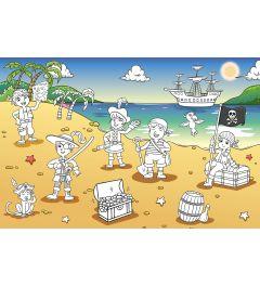 Piraten auf dem Strand