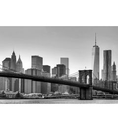 New York - Skyline - Schwarz Weiss