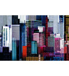 Colourful Skyscrapers