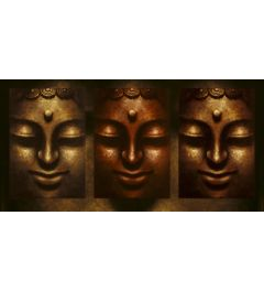 Buddha in Three Lights
