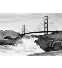 Golden Gate Bridge 8-delig Vlies Fotobehang 366x254cm