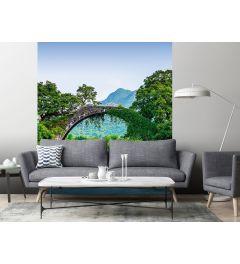 Brücke Über Ein Fluss In China Fototapete 2-teilig 184x254cm