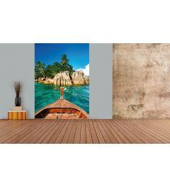 Saint-Pierre Insel Seychellen Fototapete 2-teilig 184x254cm