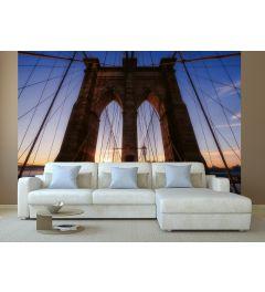 Brooklyn Bridge USA Fototapete 4-teilig 368x254cm