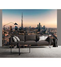 Dubai Vereinigte Arabische Emirate 4-teilige Fototapete 368x254cm