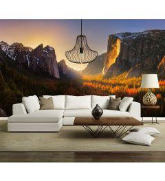 Yosemite-Nationalpark USA Fototapete 4-teilig 368x254cm