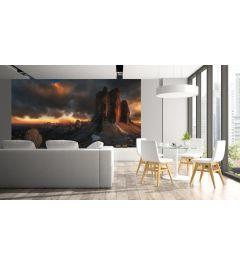 Dolomiten Italien Fototapete 4-teilig 368x254cm
