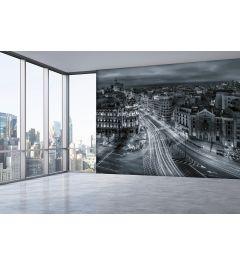 Urban Madrid 4-teilige Fototapete 368x254cm