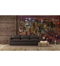 Lichter Von New York Fototapete 4-teilig 368x254cm