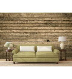 Abbruch Holzwand 4-teilige Fototapete 368x254cm