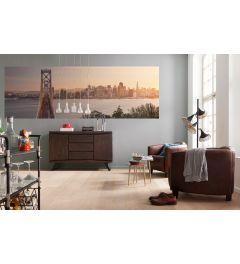 San Francisco Skyline 2-teilige Vlies Fototapete 368x124cm