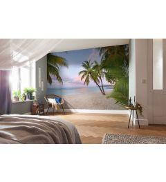 Paradise Morning 4-teilige Vlies Fototapete 368x248cm