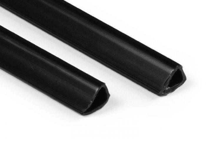 Posterstrips Zwart 80cm